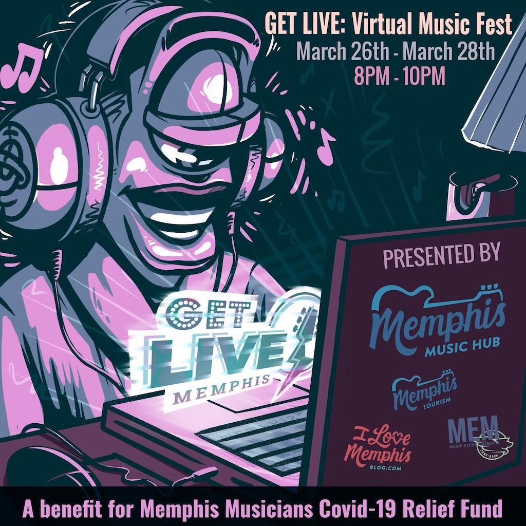 Memphis virtual music festival