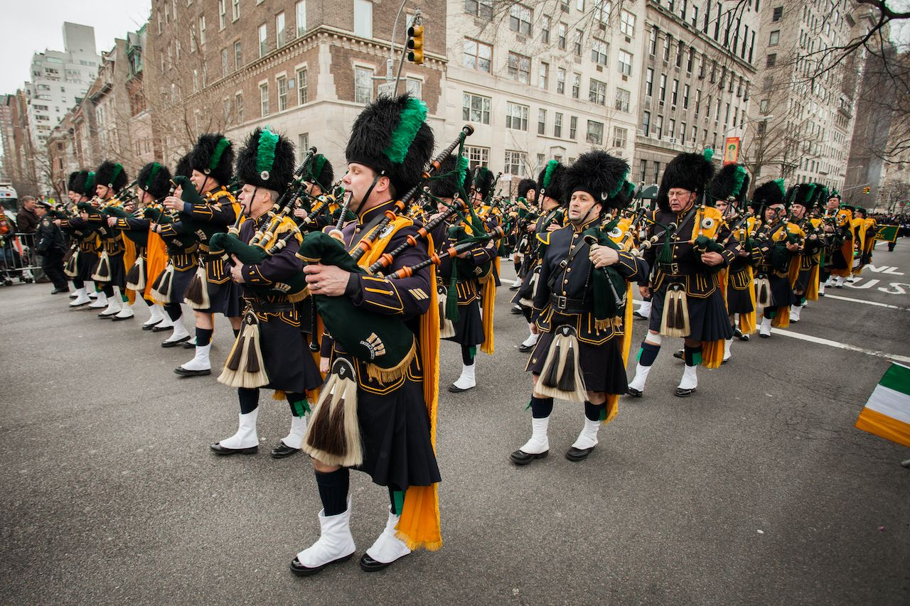 NYC St. Patrick's Day parade moved