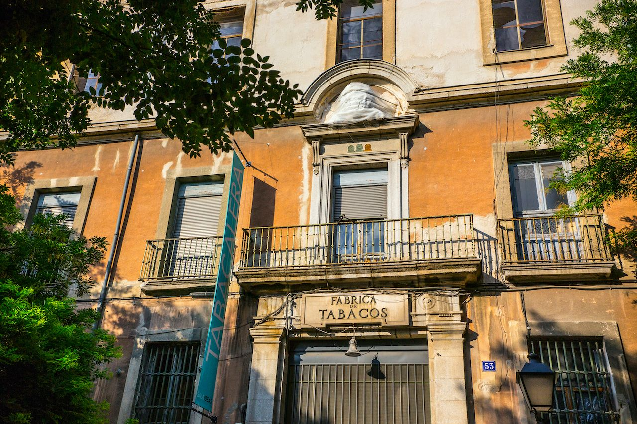 Old Tobacco Factory in Madrid