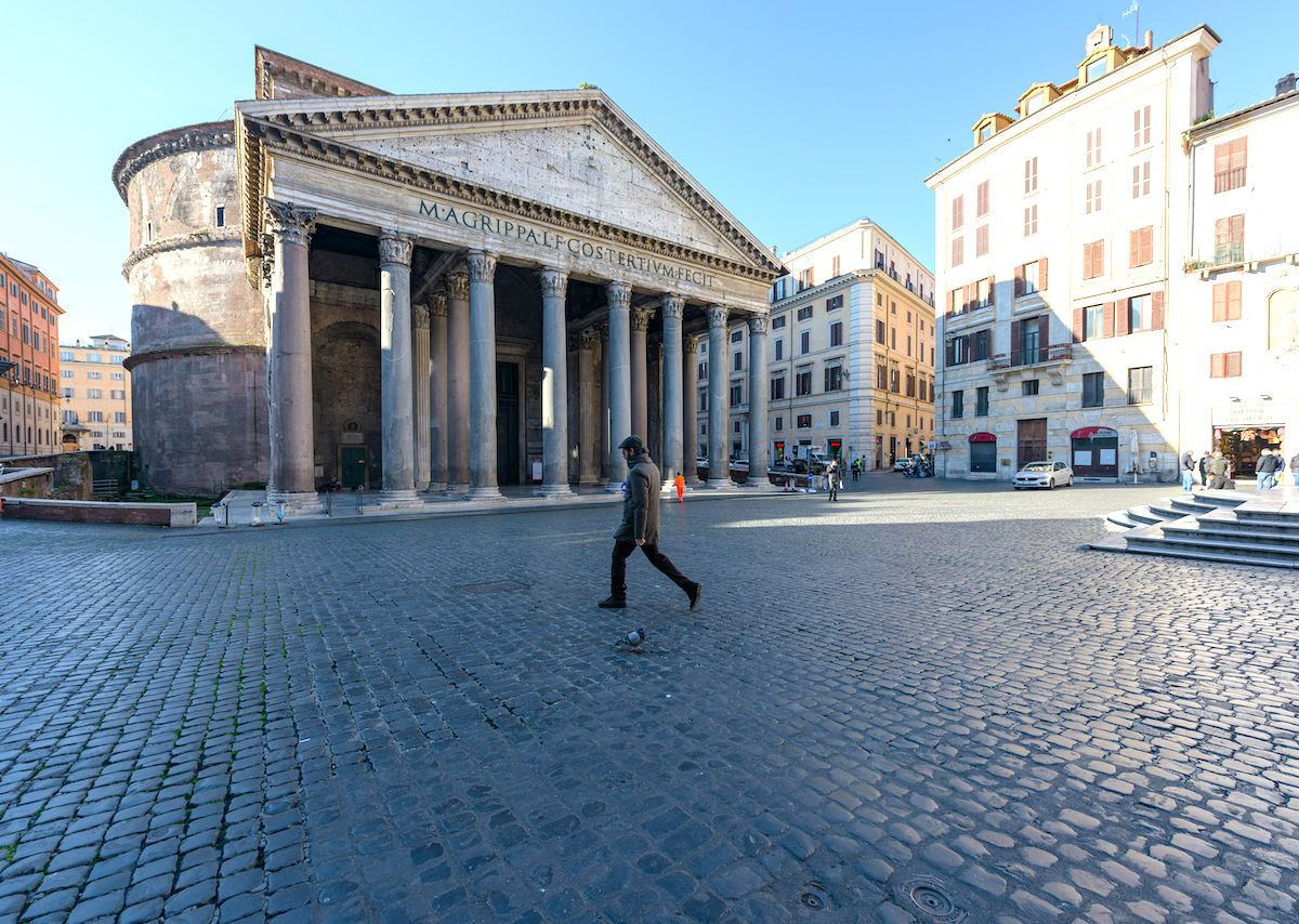 Social distancing measures are slowly paying off in Italy and elsewhere around the world