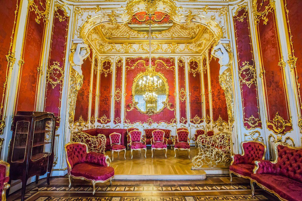 State Hermitage Museum, interior