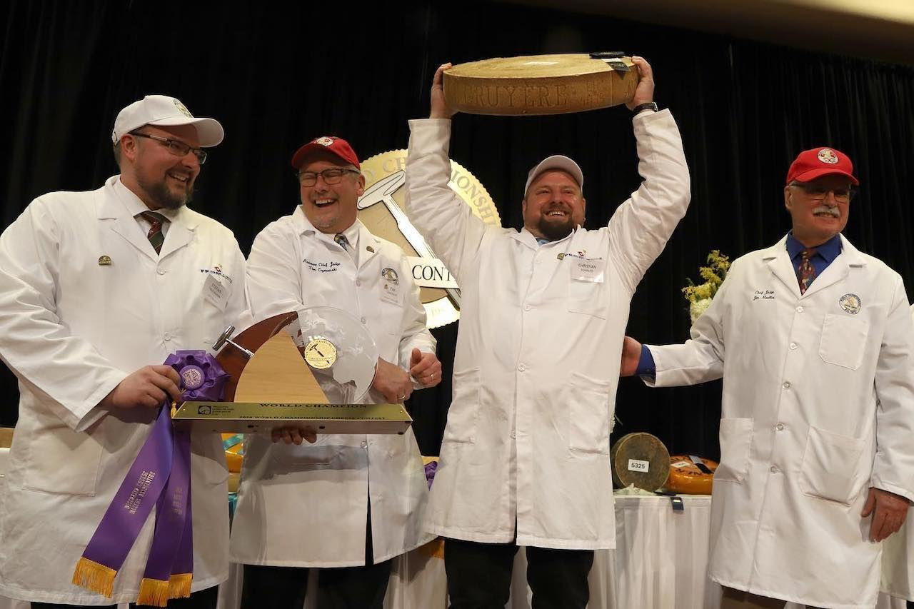 Gourmino Le Gruyère wins contest