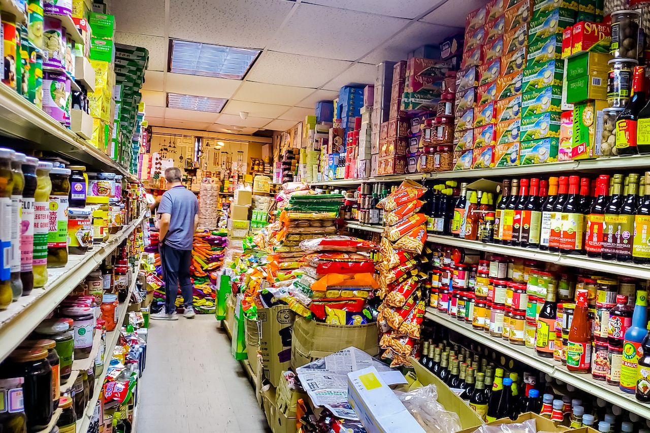 Asian grocery stores during COVID-19