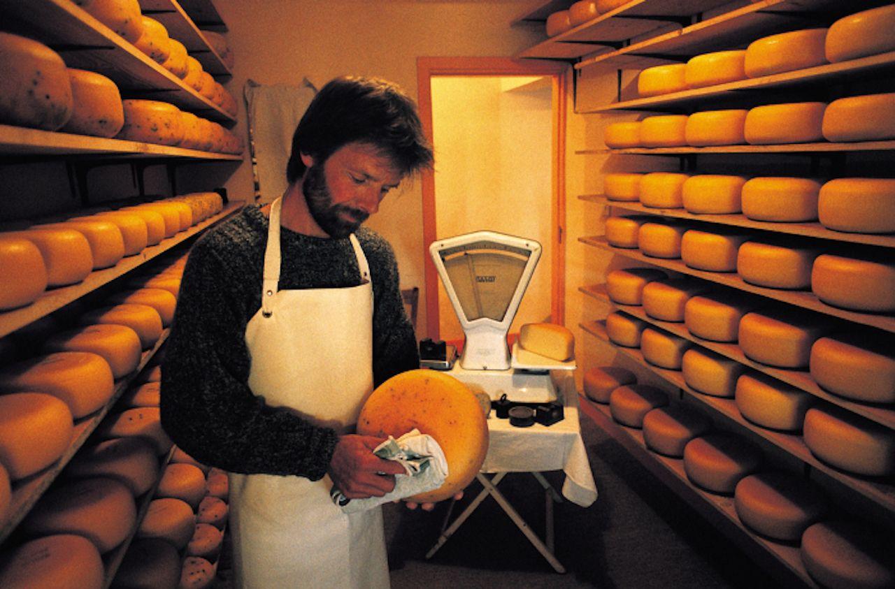 Irish cheese maker