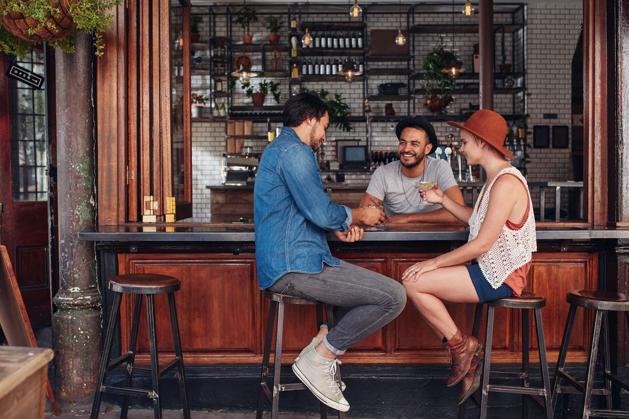 Why you should always sit at the bar