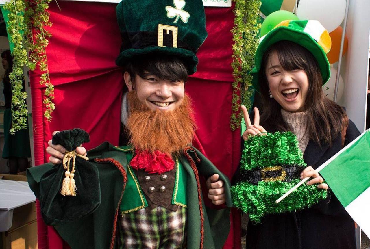 Tokyo's Irish parties