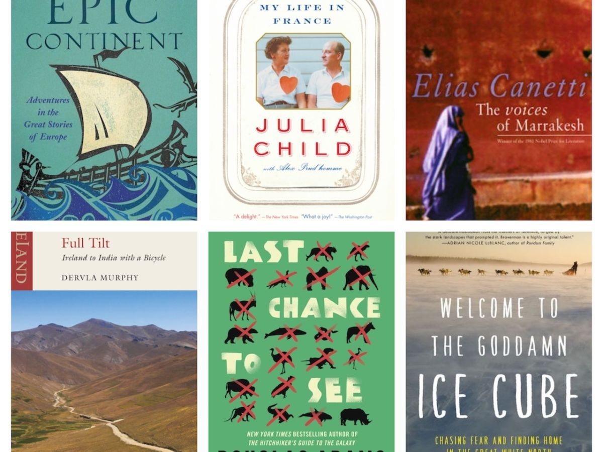 The best travel memoirs to read while you're stuck inside