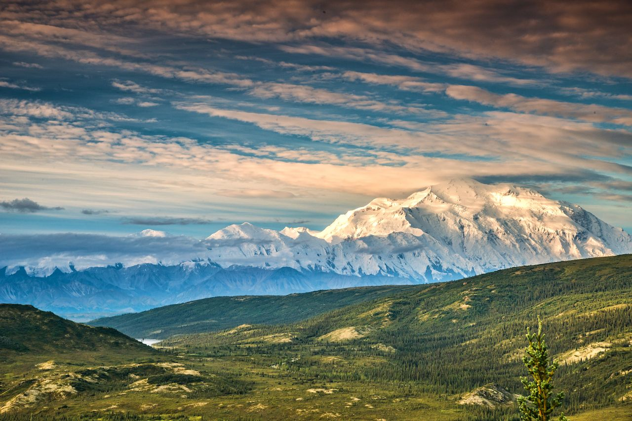 view of alaska's mount denali