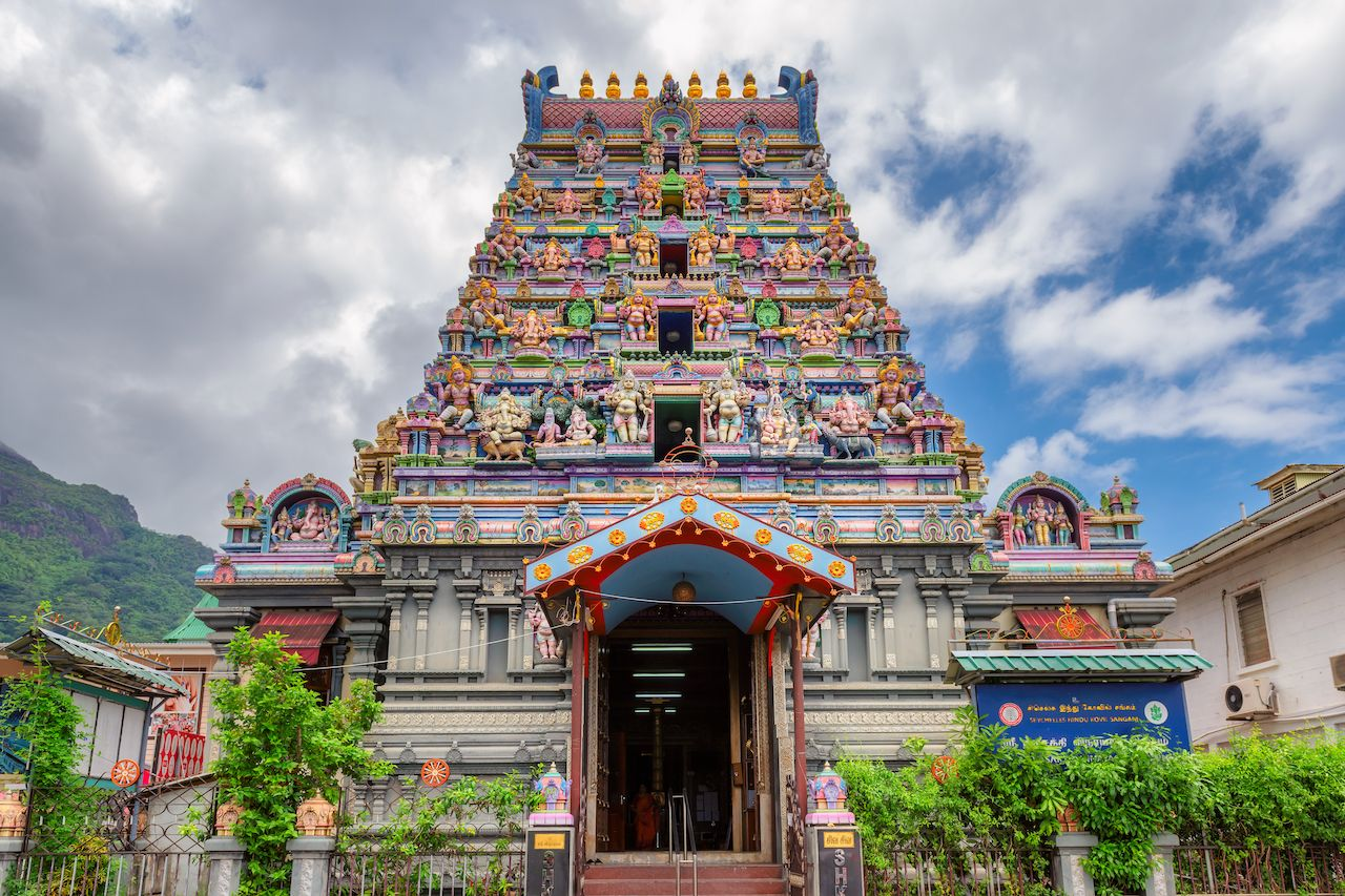 Arul Mihu Navasakthi Vinayagar Temple in the Seychelles
