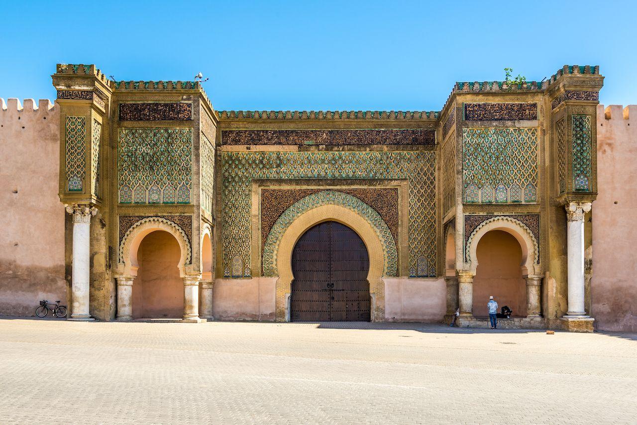 Bab Mansour Laleuj in Morocco