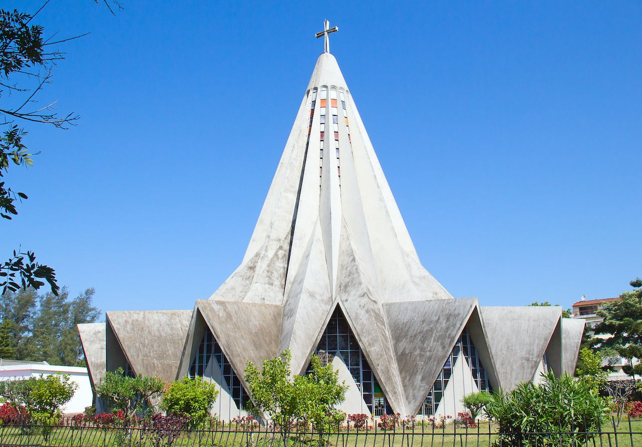 Church of Saint Anthony of Polana in Mozambique