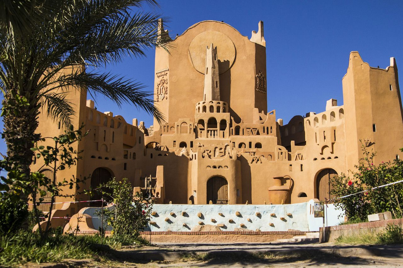 Clay Palace of Ghardaia in Algeria