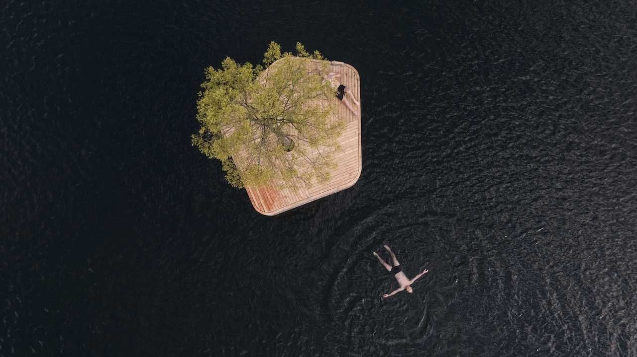 Copenhagen floating park