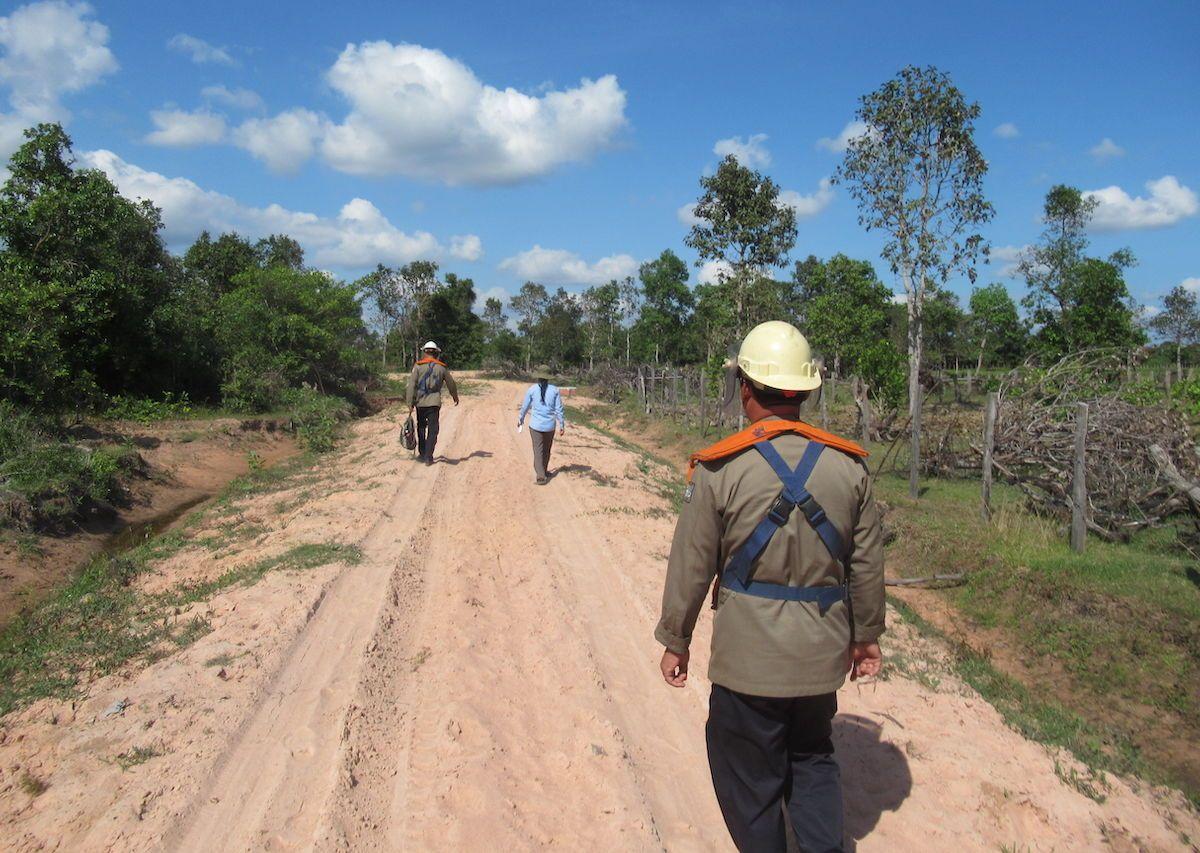Landmine removal efforts Siem Reap