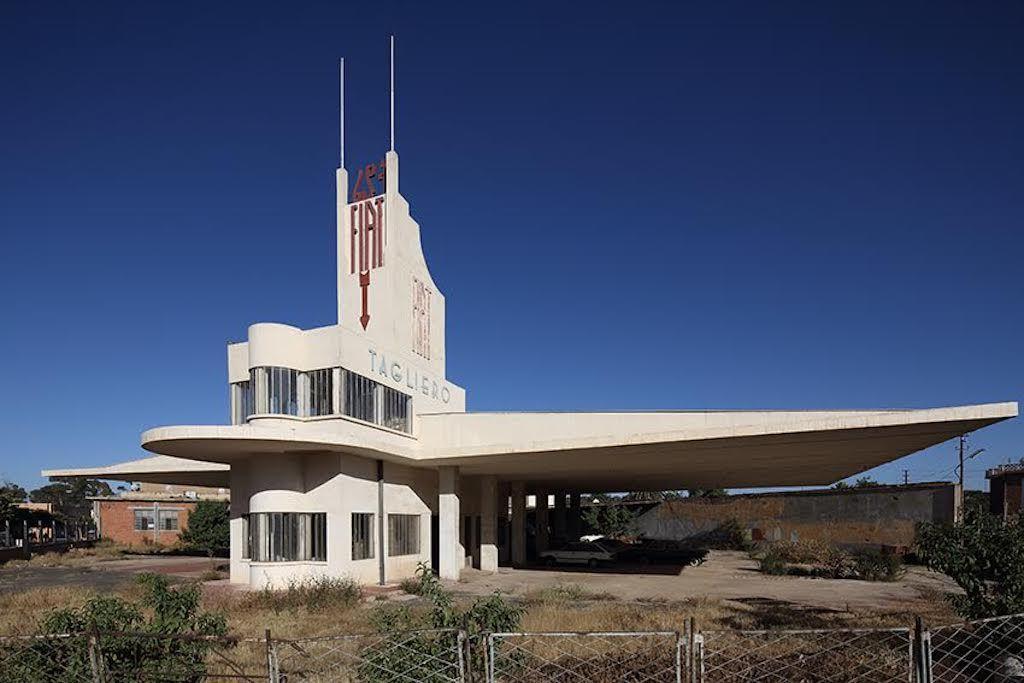 Fiat Tagliero building in Eritrea