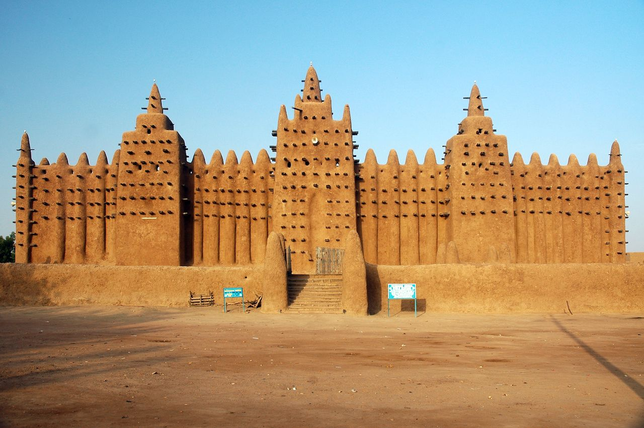 Great Mosque of Djenne in Mali
