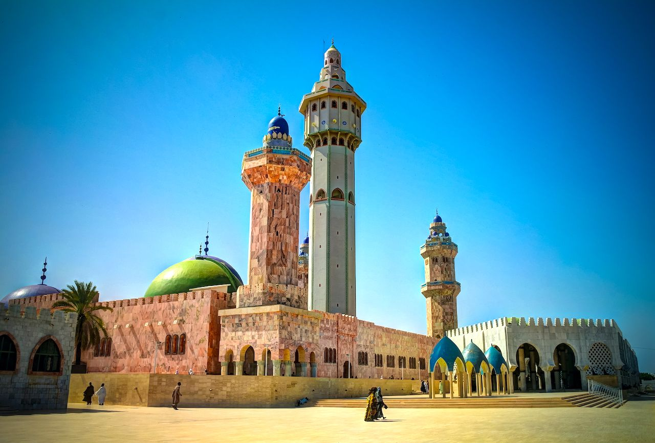 Great Mosque of Touba in Senegal