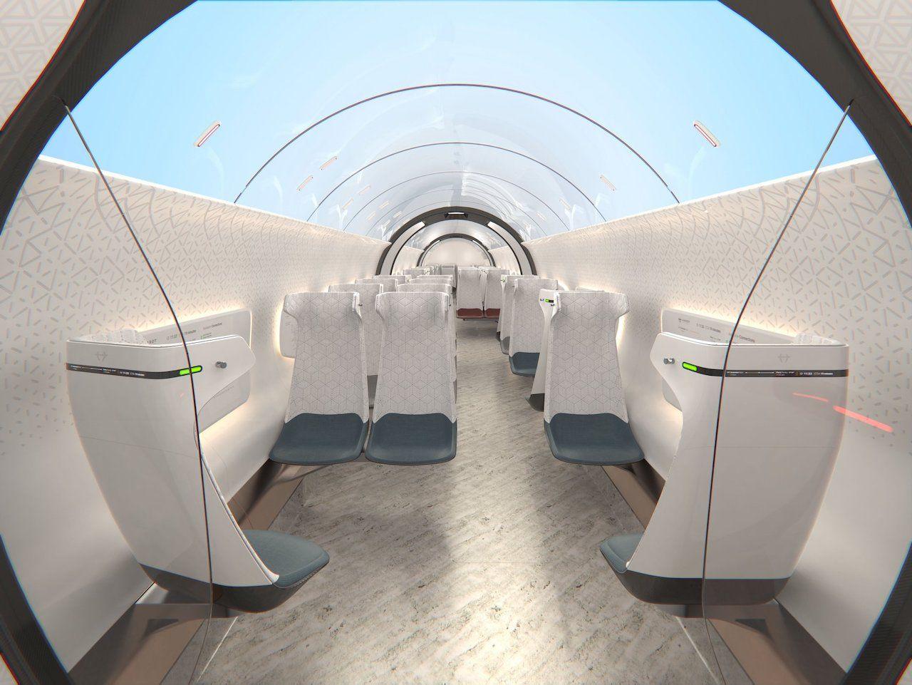 Hardt Hyperloop inside