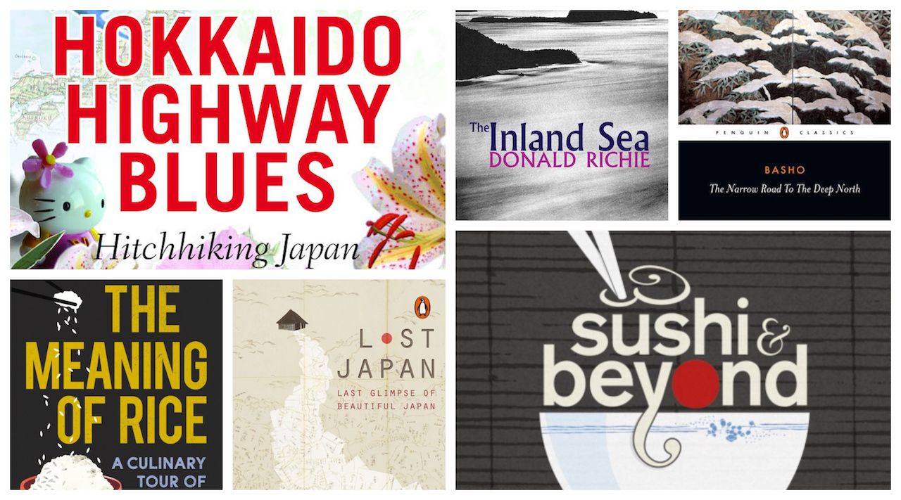 Best books about Japan traveling