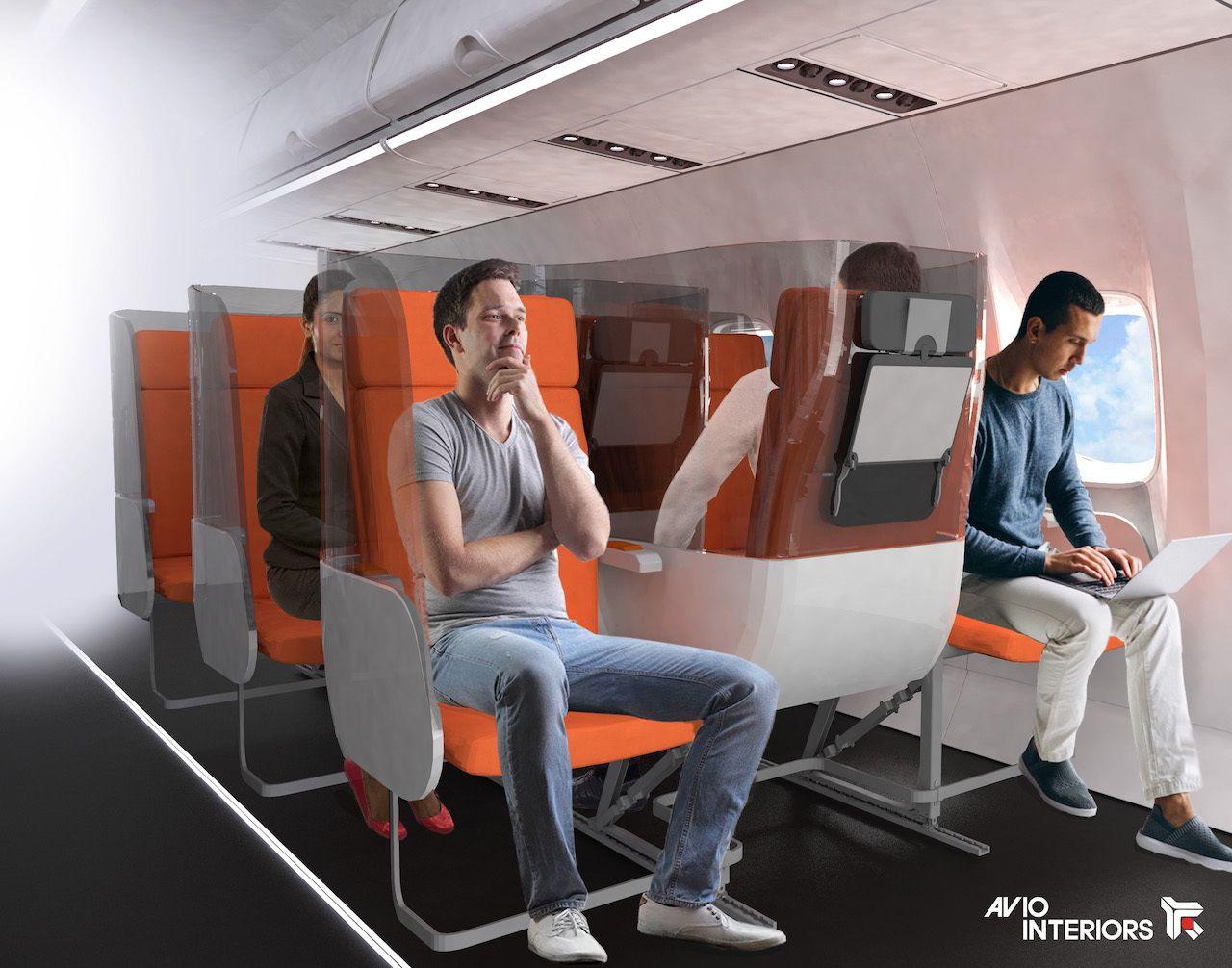 Janus seat avio interiors