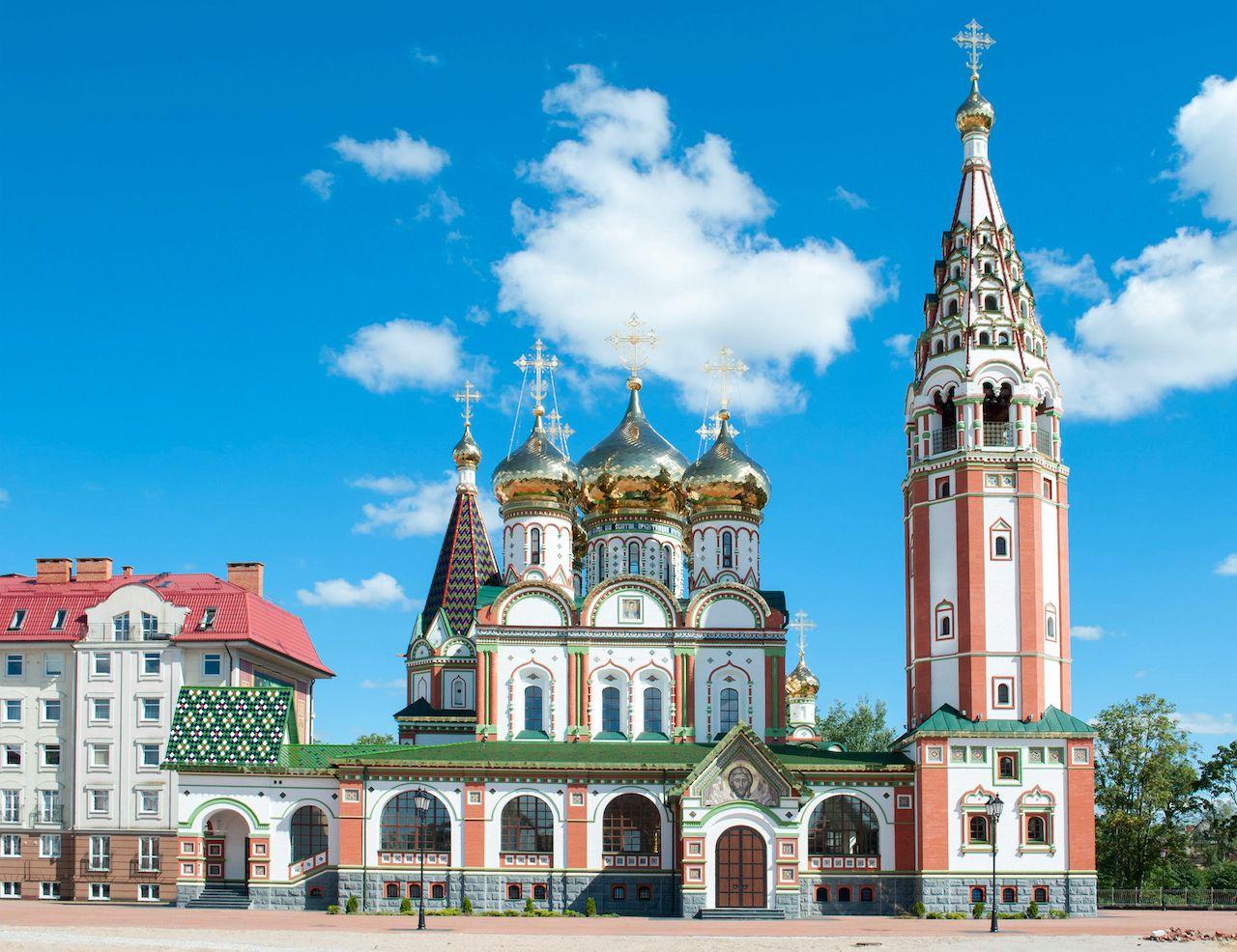 Kaliningrad in Russia