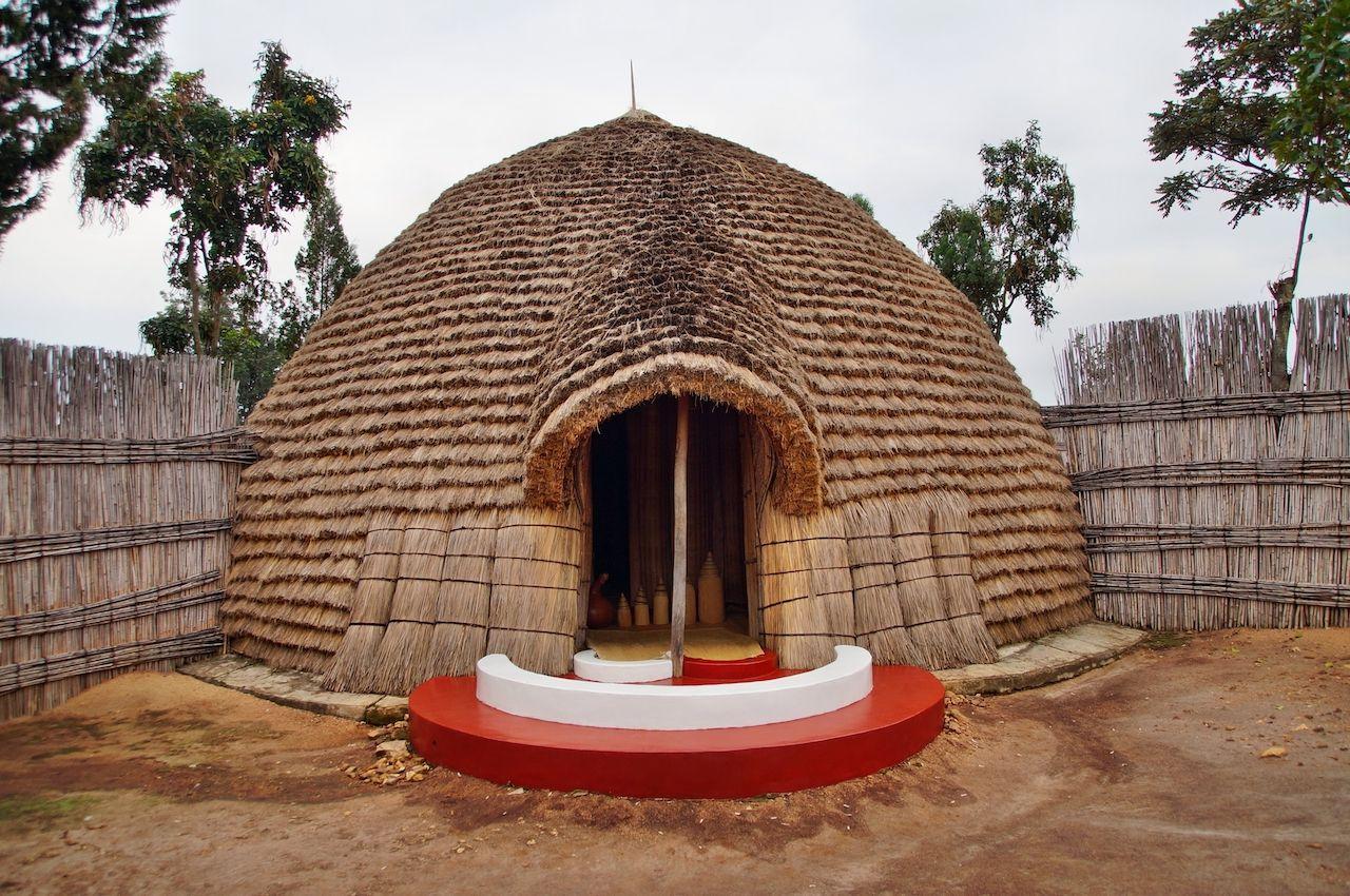 King's Palace in Rwanda