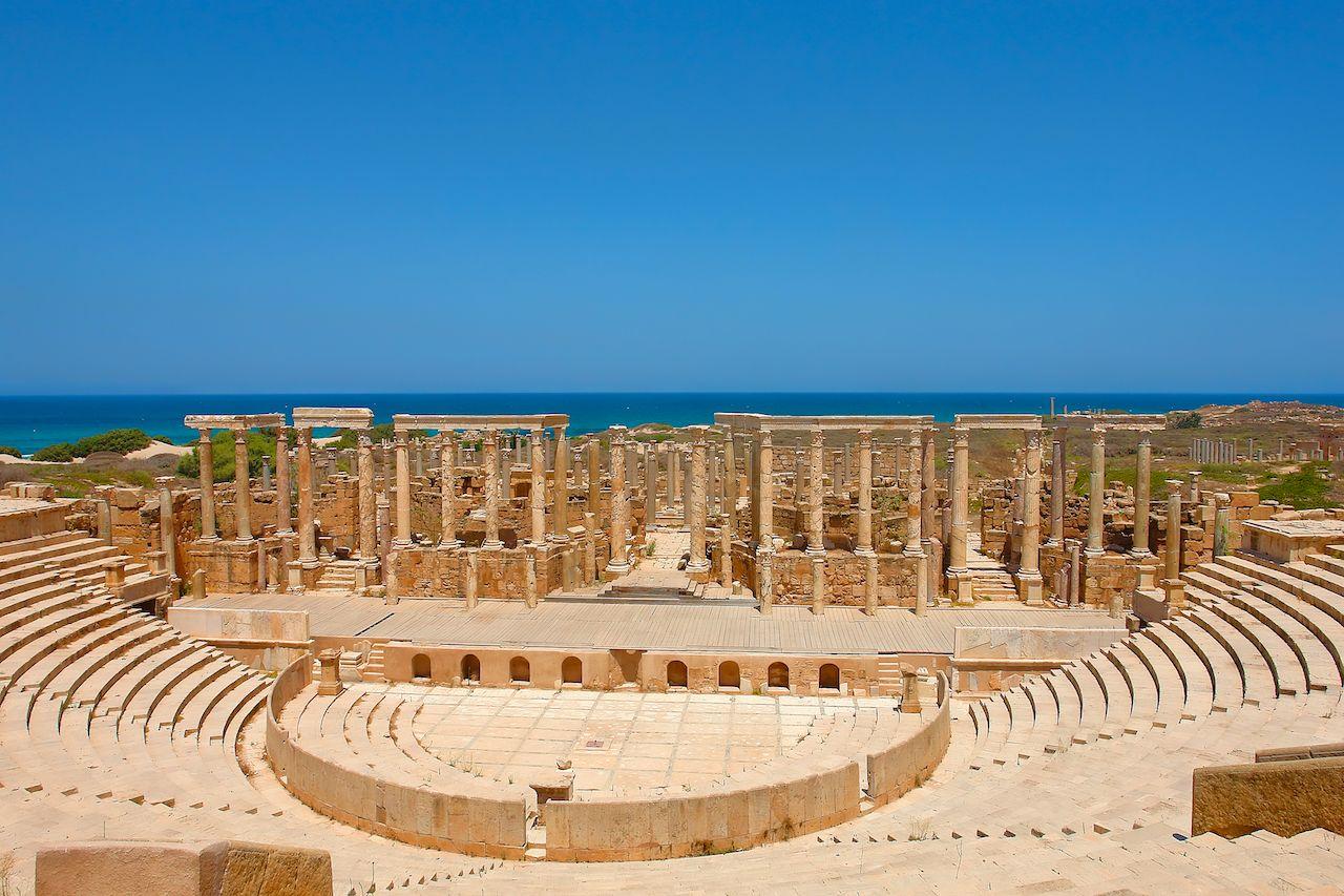 Leptis Magna in Libya