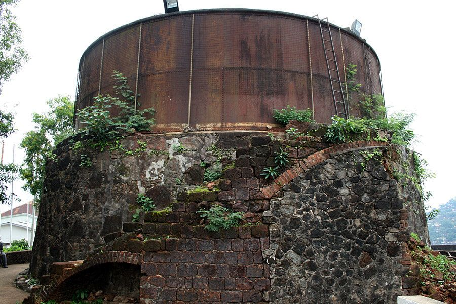 Martello Tower in Sierra Leone