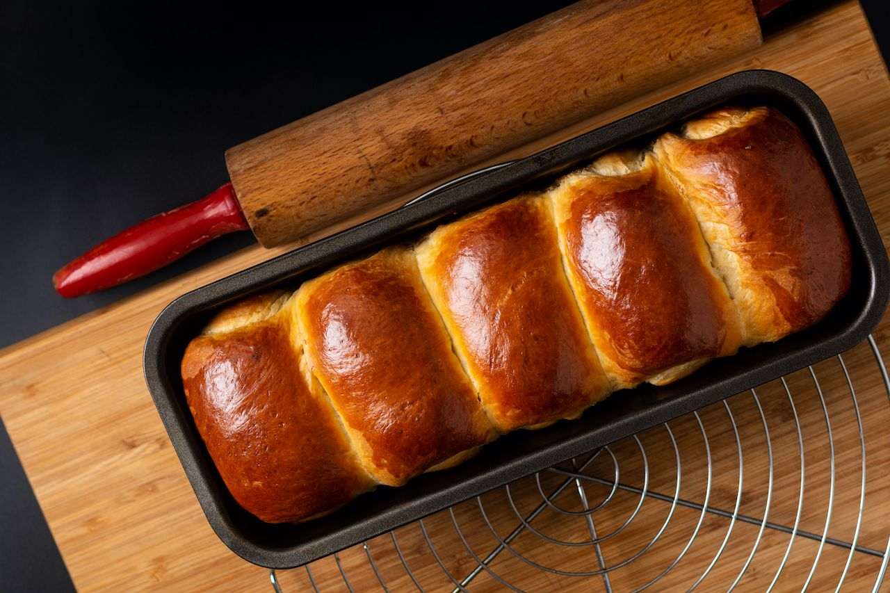 Milk loaf bread