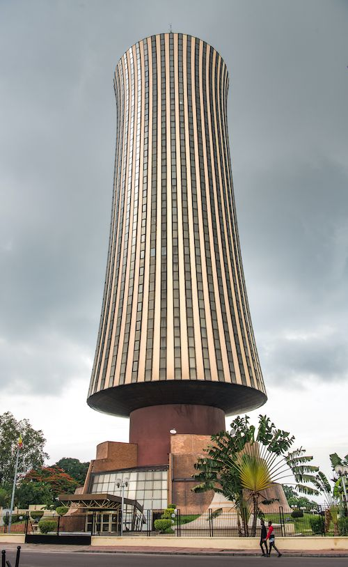 Nabemba Tower in the Republic of the Congo