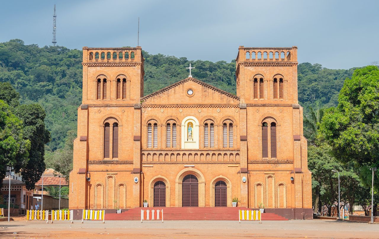 Notre-Dame of Bangui in Central African Republic