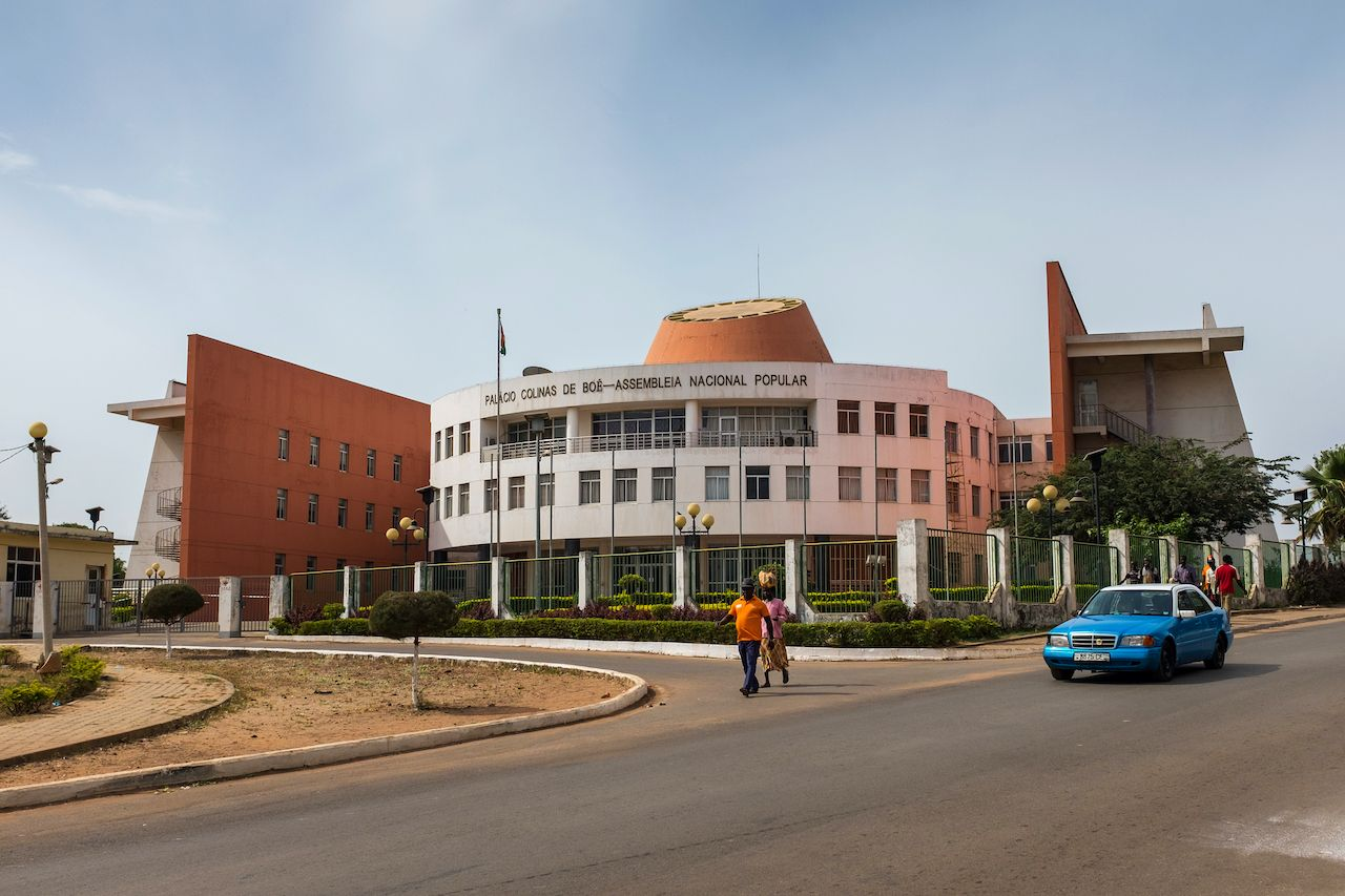 Palace of the People in Guinea Bissau