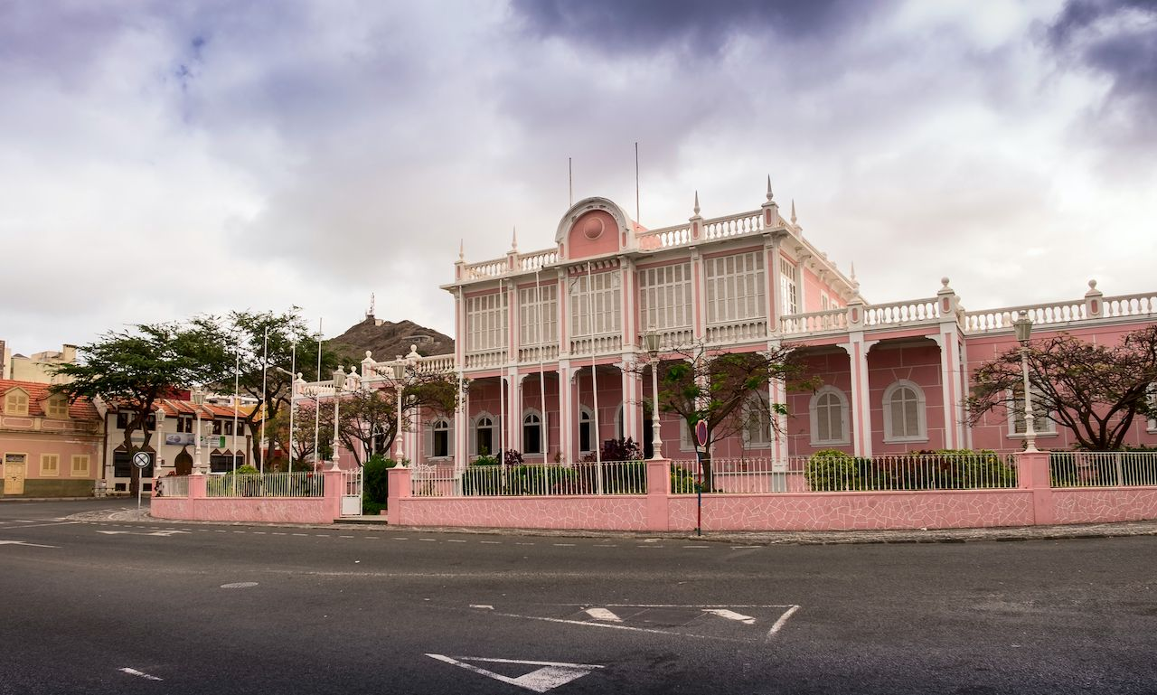 Palacio do Povo in Cabo Verde