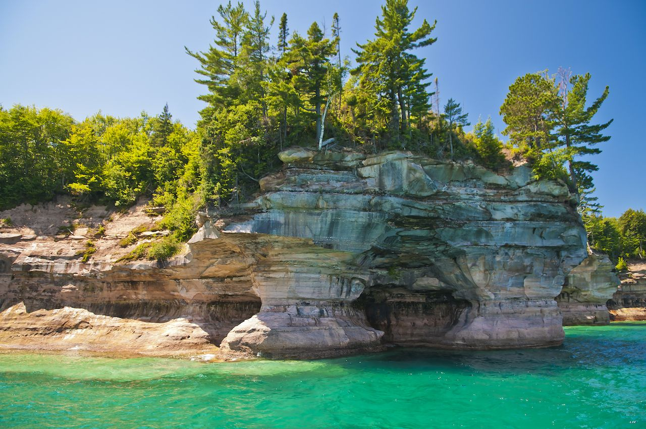 Pictured Rock National Lake Shore Michigan