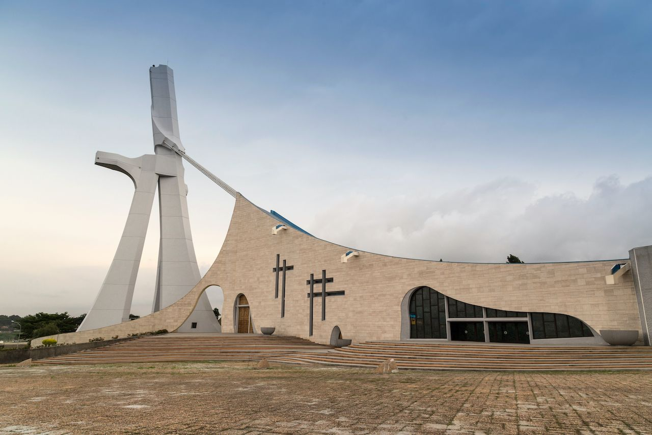 Saint Paul Cathedral in Ivory Coast