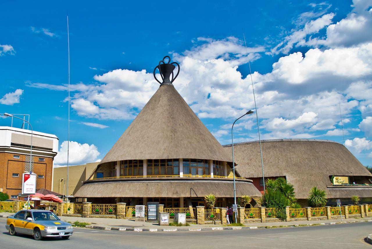 The Mokorotlo in Lesotho