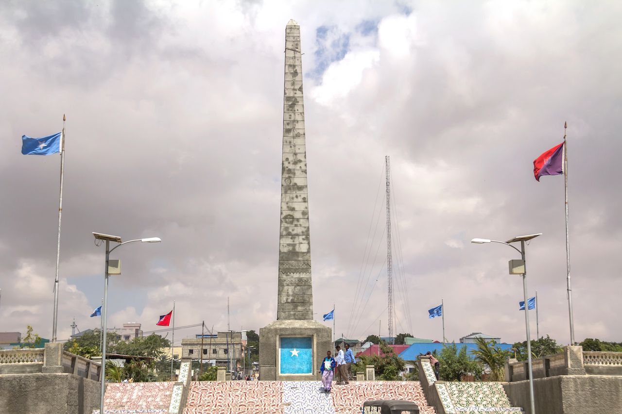 The Tomb of the Unknown Soldier in Somalia