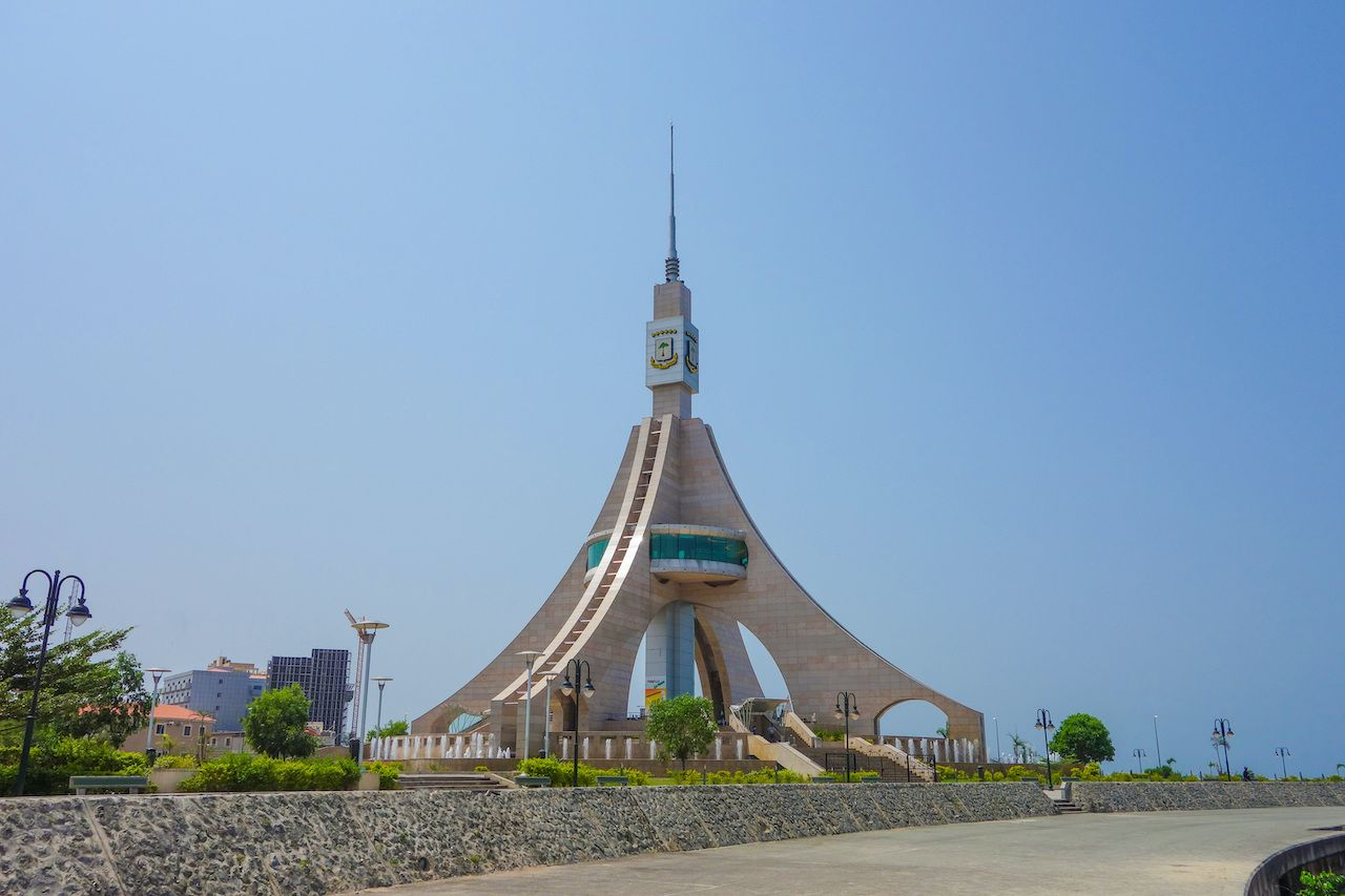 Torre de Libertad in Equatorial Guinea