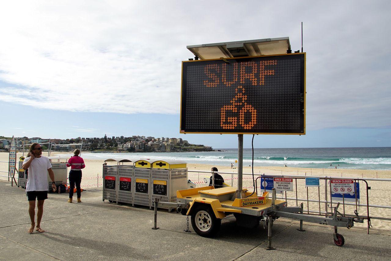 Australia begins easing its lockdown