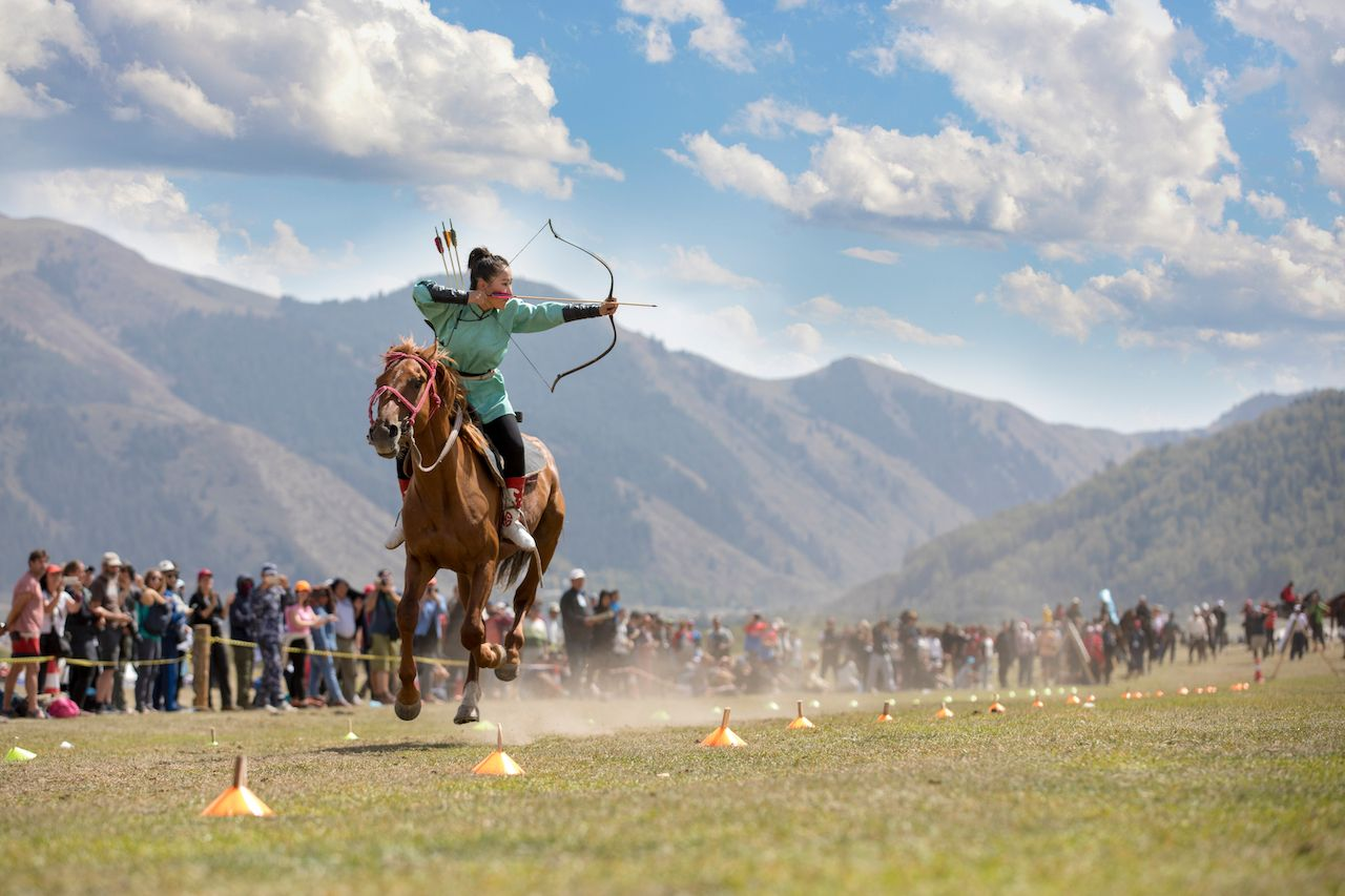 What are the World Nomad Games