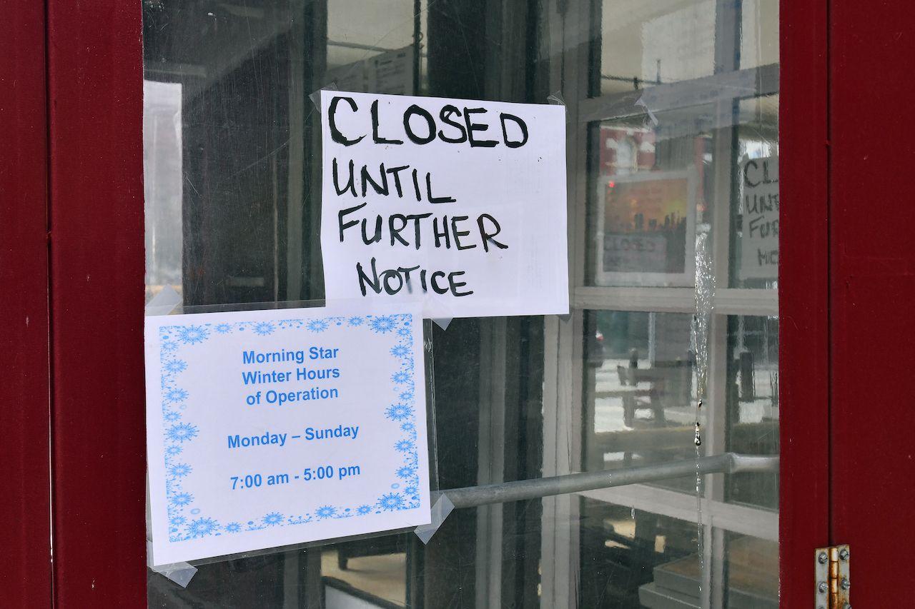 110,000 restaurant closures expected