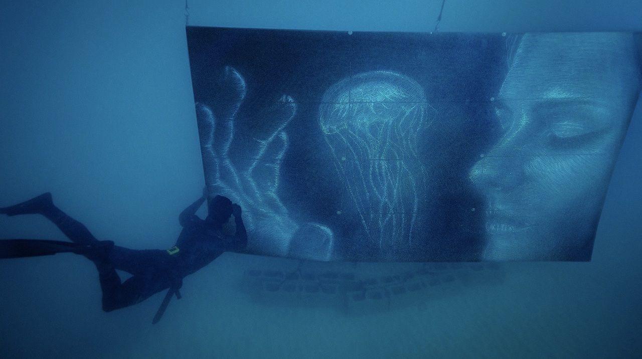 Sean Yoro underwater murals
