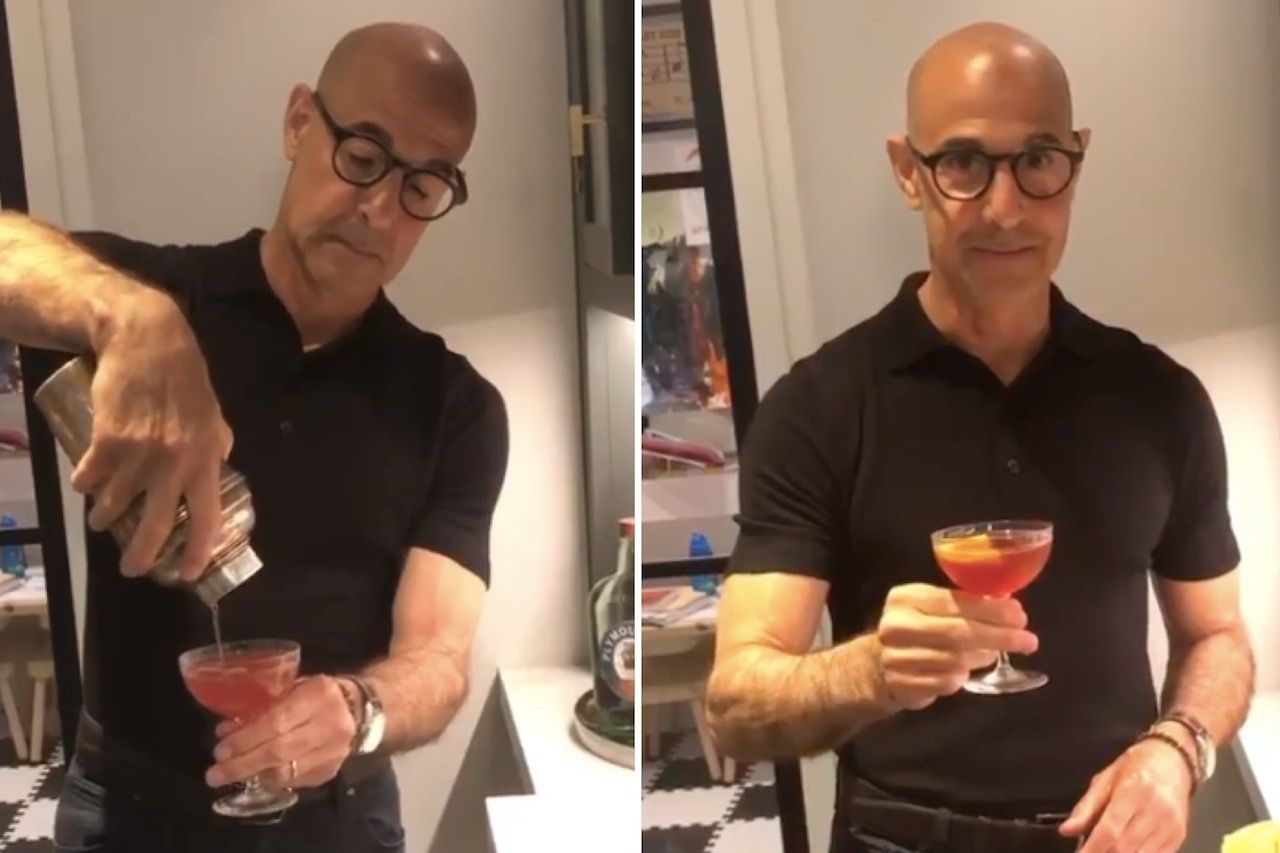 A taste of Italy, kind of. . The post Stanley Tucci's negroni recipe is the key to a 'perfect Milanese drink' appeared first on Matador Network..
