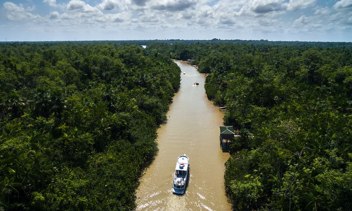 Traveling the Amazon on cargo-passenger ships is the coolest way to see the region