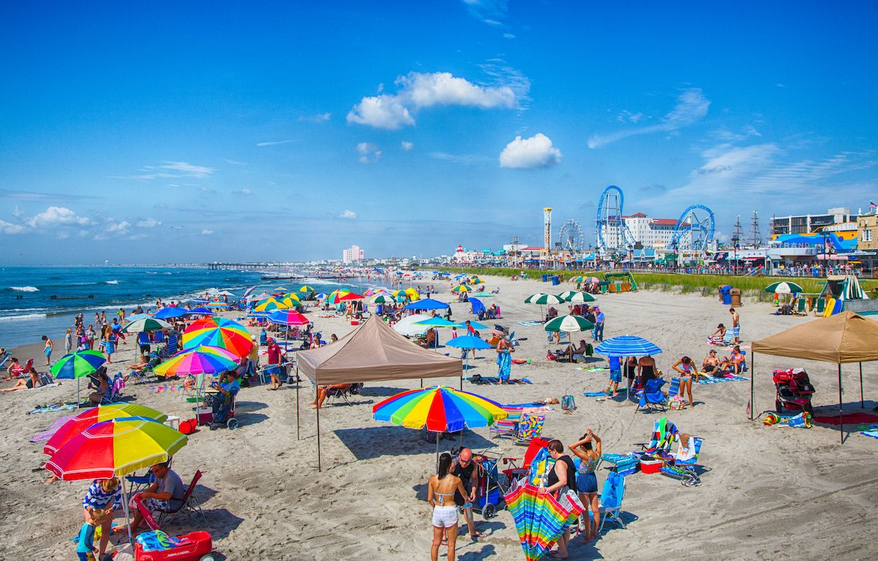 New Jersey beaches reopening