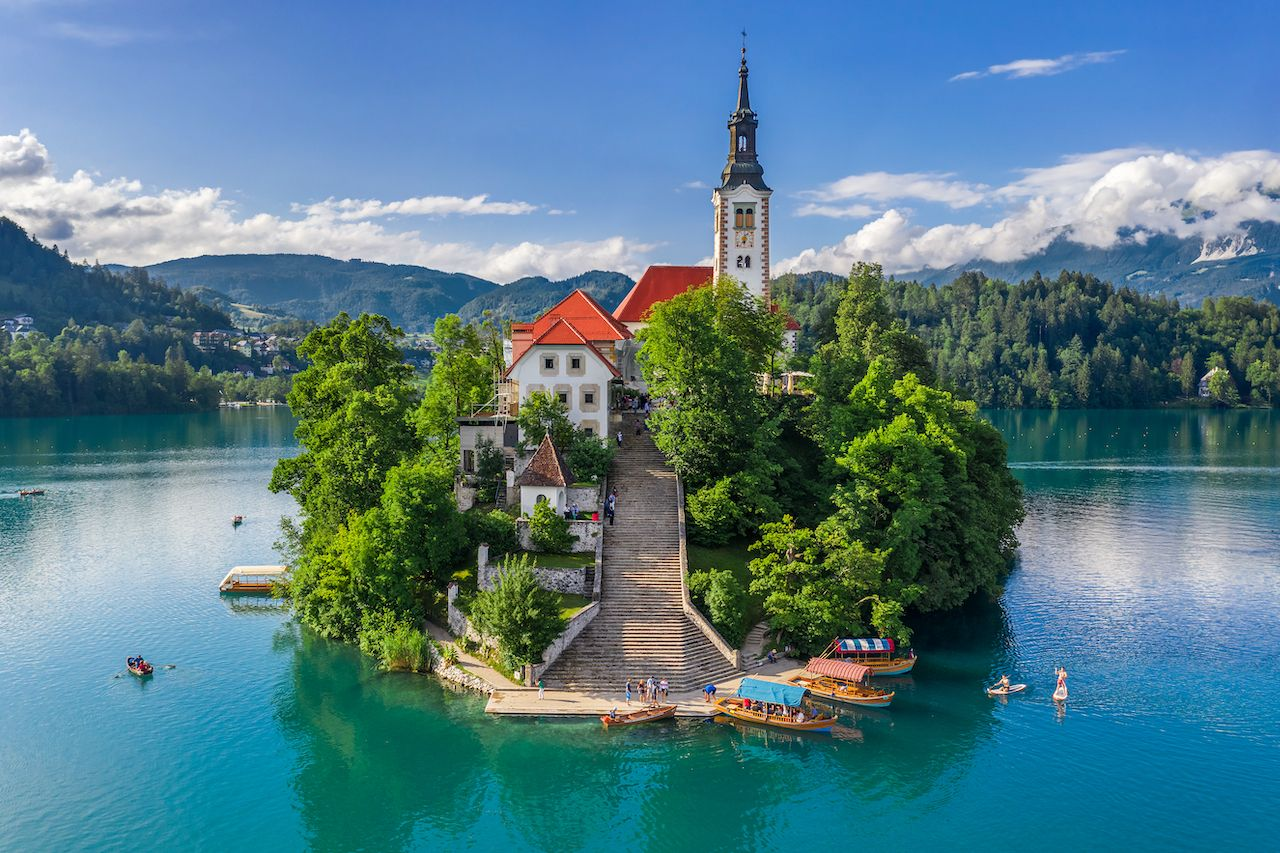 Slovenia announced its end to COVID