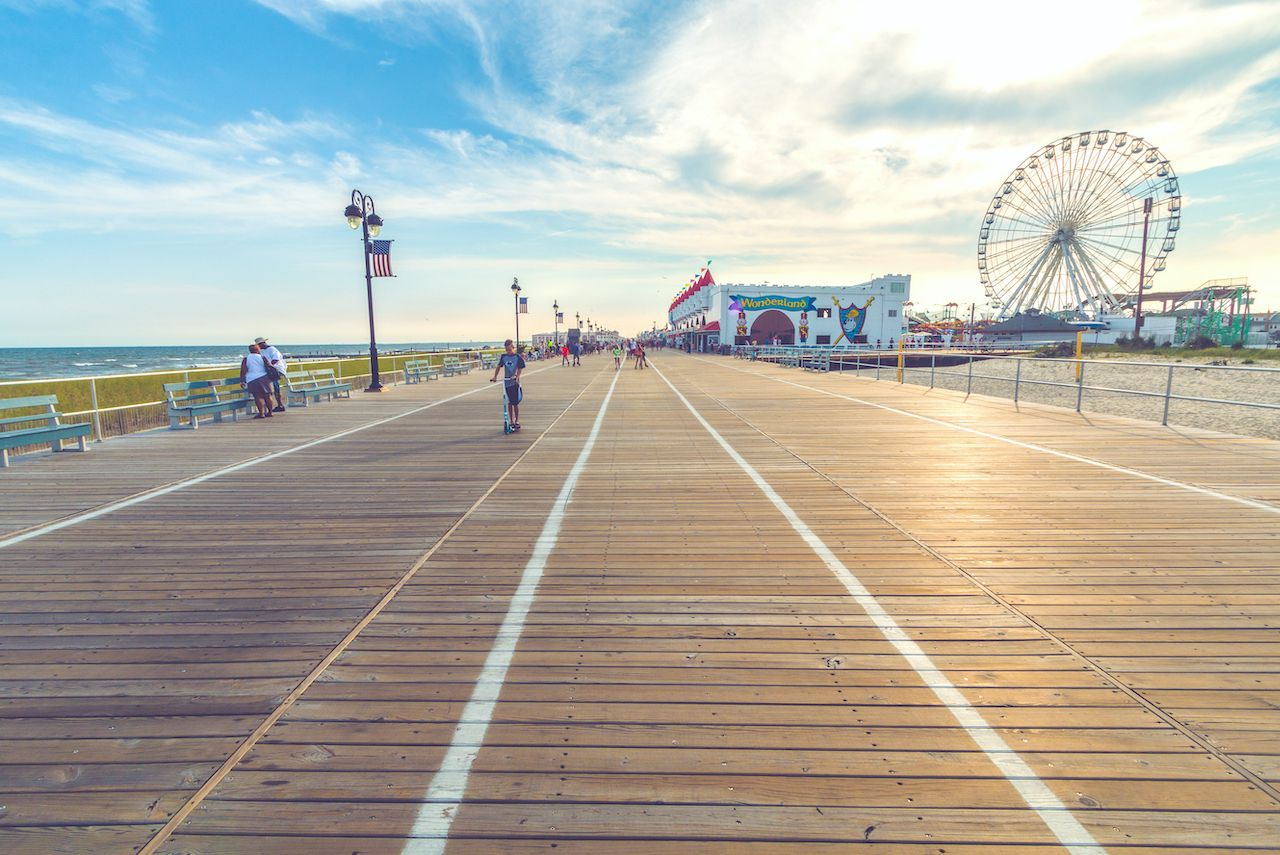 New Jersey beaches and Memorial Day