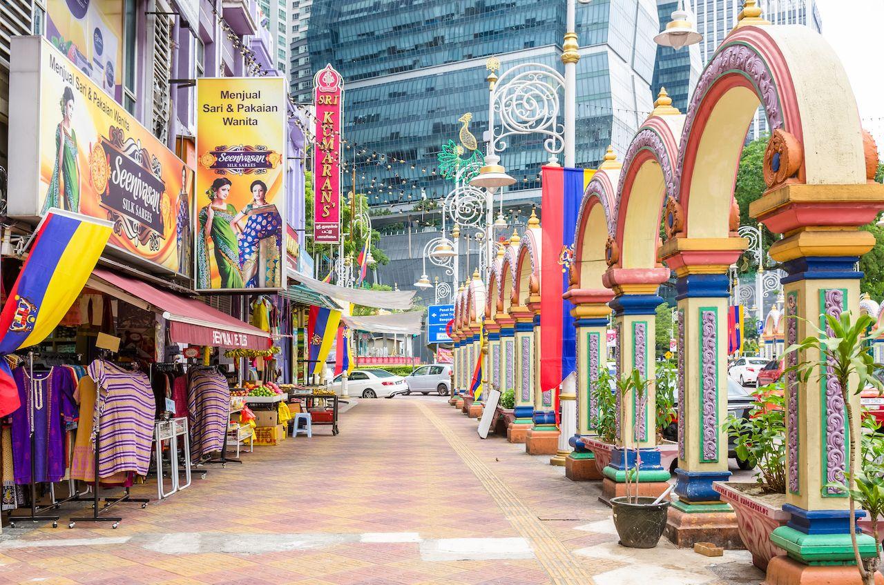 Brickfields Little India in Kuala Lumpur