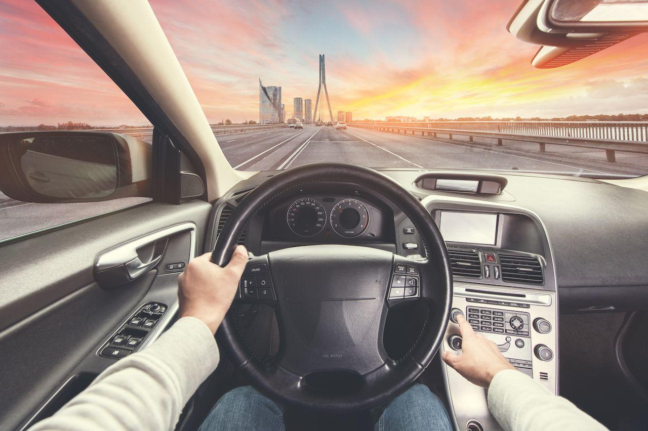 Virtually drive through cities