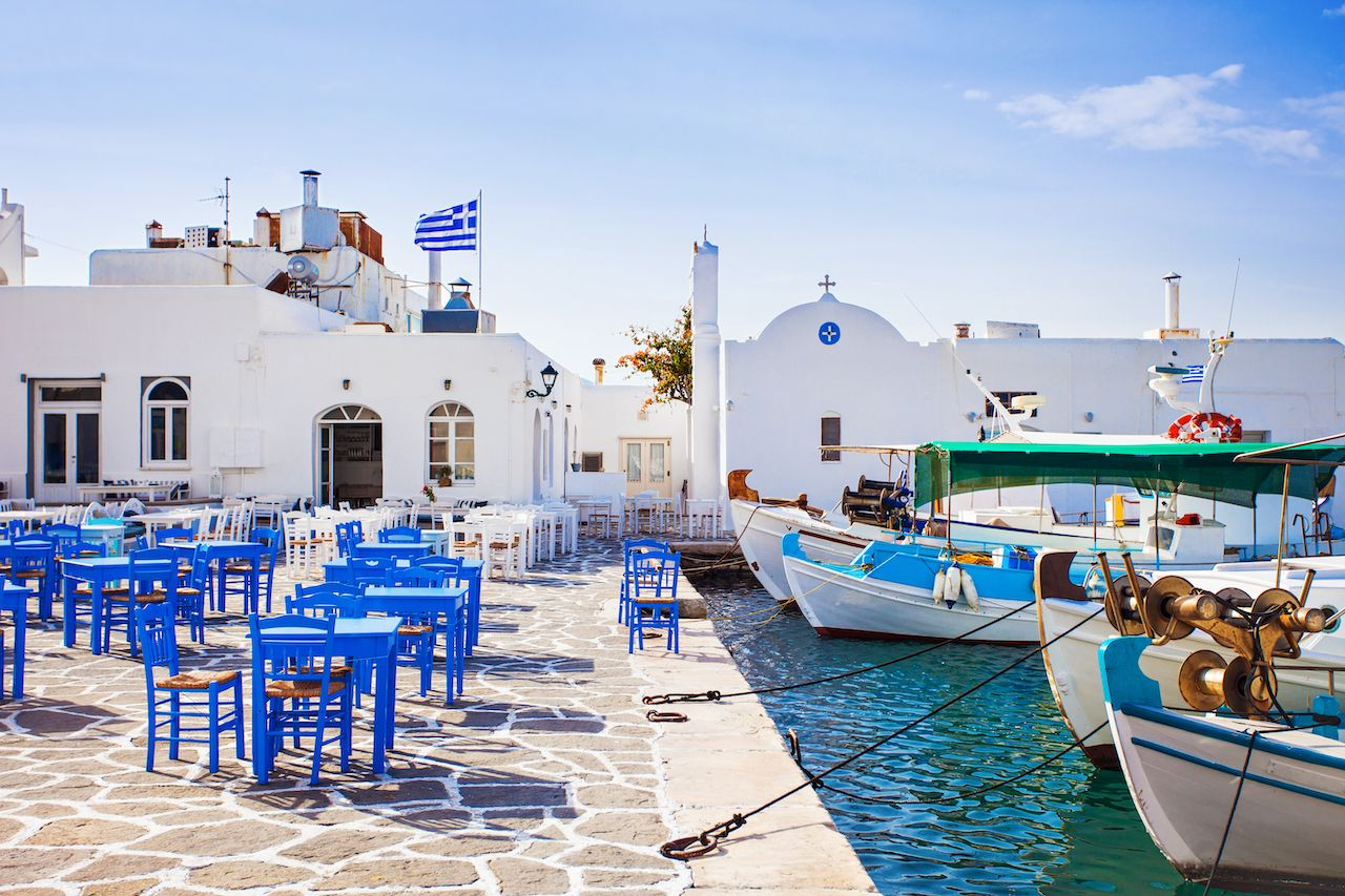 Greece reopening to tourists